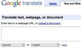 Beatbox mediante Google Translator