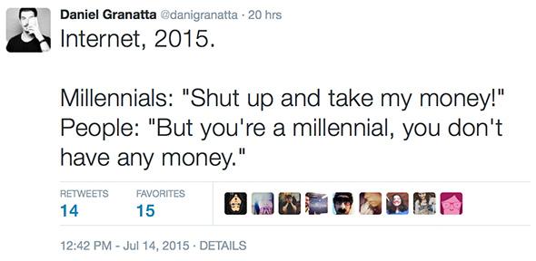 Millennials en 2015