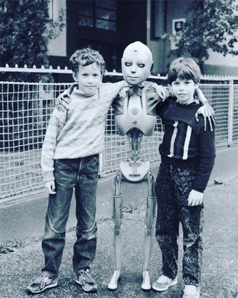 Amigos de los robots
