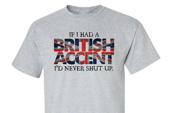 Si tuviera acento inglés...