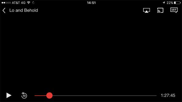 Screenshot Netflix - Lo and Behold