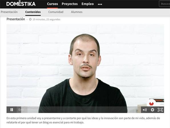 Curso en vídeo - Daniel Granatta / Domestika