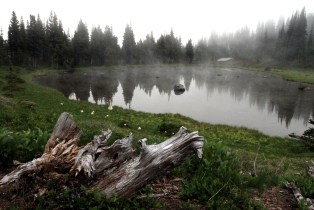 Mystic Lake, Mount Rainier Area