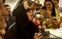 シンディ・ローパー@アルゼンチン空港