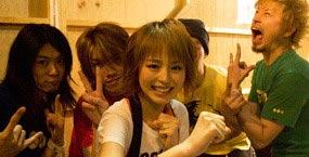 平野綾とバンドのメンバー