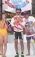 女だらけの水泳大会での田代神とくわマン