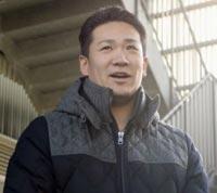 移籍が容認され笑顔で質問に答える田中