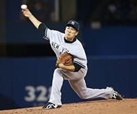 田中将大 メジャー初登板で100勝目を達成