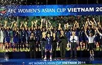 女子アジアカップ初優勝