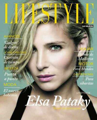 Elsa Pataky - Lifestyle Spain Magazine (December 2014)