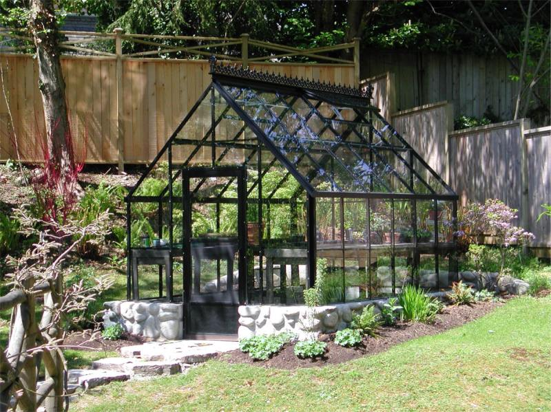 Large Of Greenhouse Attached To House