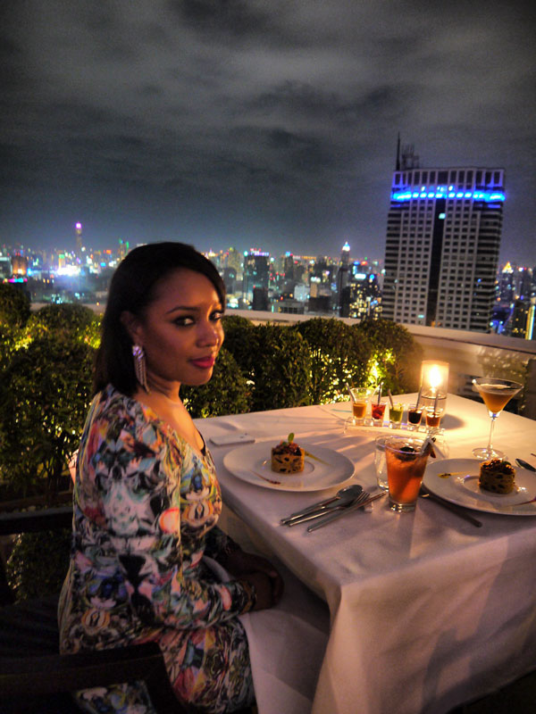 Nat at Breeze Restaurant, Lebua at the State Tower - Bangkok, Thailand