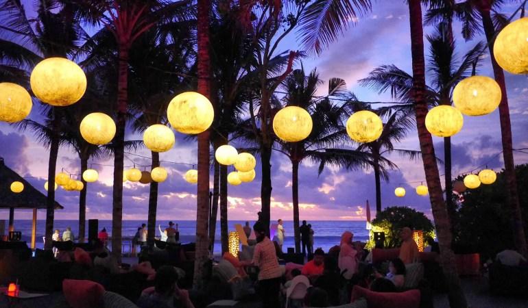 Woo Bar Sunset - W Hotel in Seminyak, Bali, Indonesia