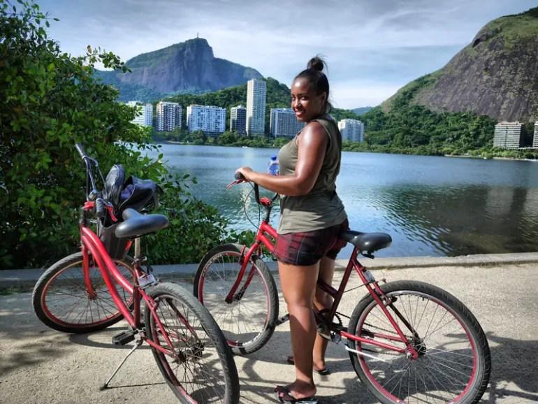 On Yer Bike, Nat - Cycling Around Rodrigo de Freitas Lagoon
