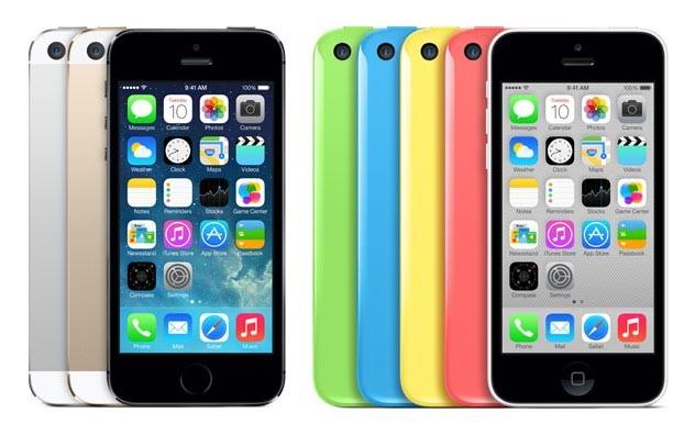 iPhone5S,iPhone5c