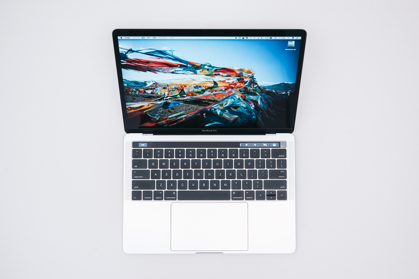 Macbook Pro '13 2016 Touch bar搭載
