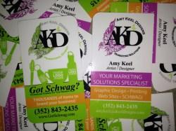 Howling Business Cards Diy Business Card Kits Graphic Design Print Web Development Promo Diy Business Cards Silhouette Diy Business Cards Using Microsoft Word