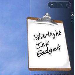 Silverlightinkgadget