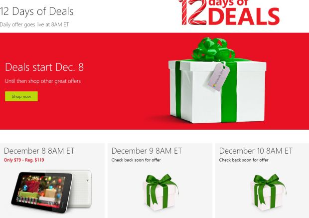 12 Days of Deals at Microsoft