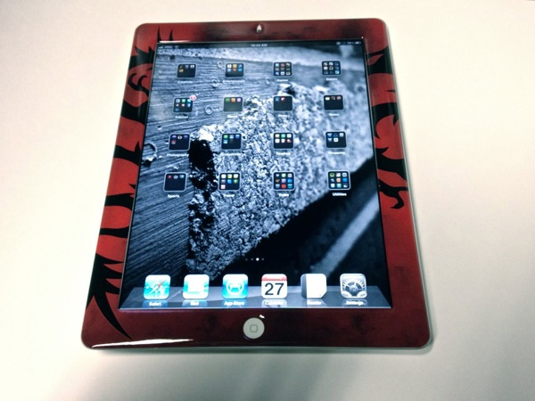 DomeSkin on iPad 2