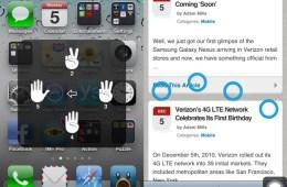 iPhone Gestures