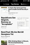 Zite for iPhone Top Stories