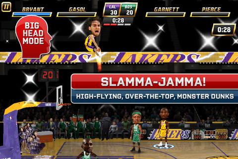 NBA Jam iPad Game