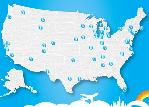 Skype Free Wi-Fi Holiday Promotion