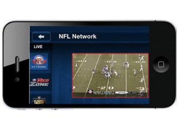 NFL Mobile on the iPhone - image credit Electronista