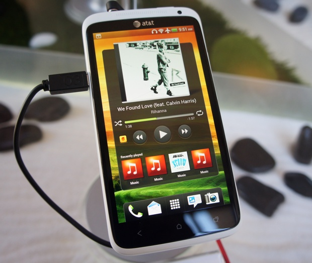 HTC One X - HTC Sense 4.0 Music Widget