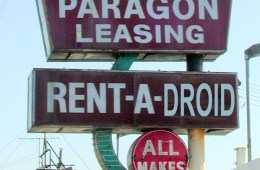 Leasing Smartphones - Paragon Leasing Sign by pixeljones on Flickr