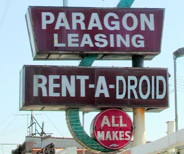 Leasing Smartphones - Paragon Leasing Sign by pixeljones on Flickr