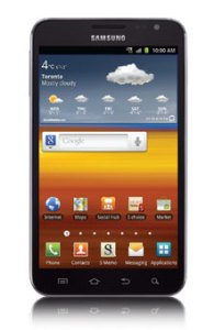 Samsung Galaxy Note Goes on Sale in Canada