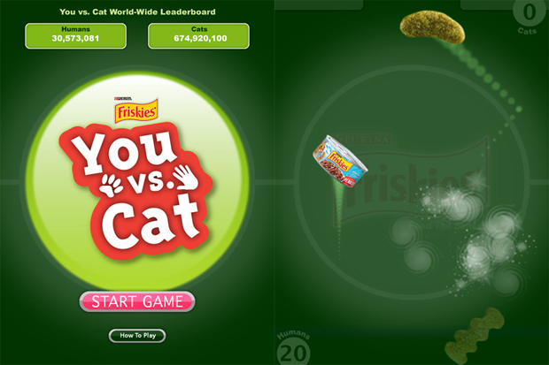 You vs Cat iPad Game
