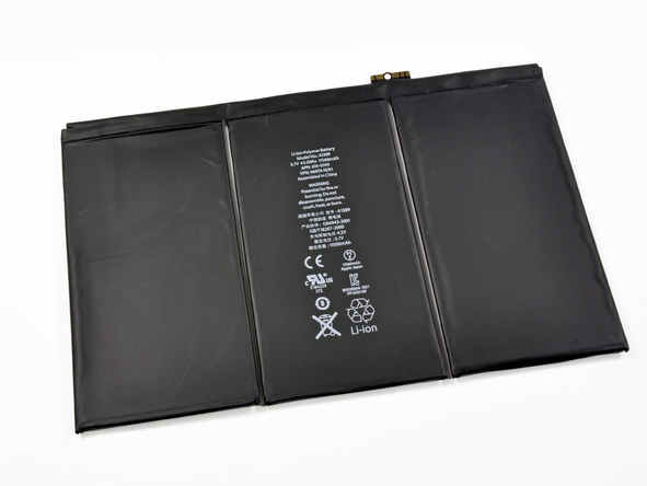 New iPad Teardown Reveals Massive Battery