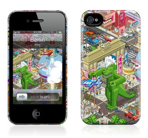 Gelaskins iPhone 4s hardcase