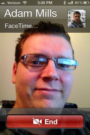 How to Make a FaceTime call on call