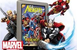 Nook Tablet Avangers Graphic Novels