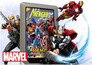 Nook Tablet Avangers Graphic Novels