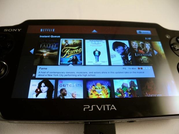 Netflix on the PSP Vita