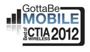 GottaBeMobile Logo-Best CTIA 2012