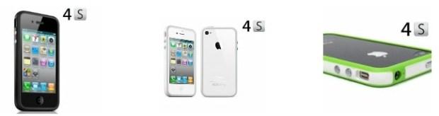 iPhone 4S bumper cases