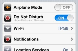 iOS 6 Do Not Disturb rumor