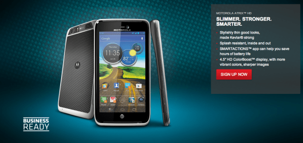 Motorola Atrix HD Moto