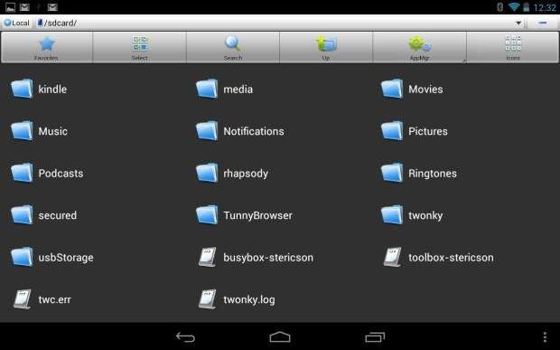 USB drive on Nexus 7
