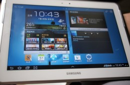 Samsung Galaxy Note 10.1 Detailed in Photos and Video