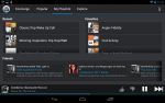 Songza for NExus 7