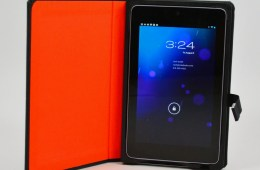 TreeGloo Nexus 7 Case Review - open