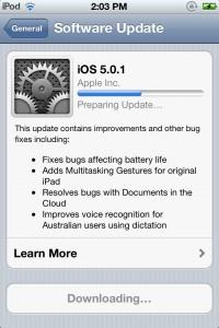 iOS OTA update