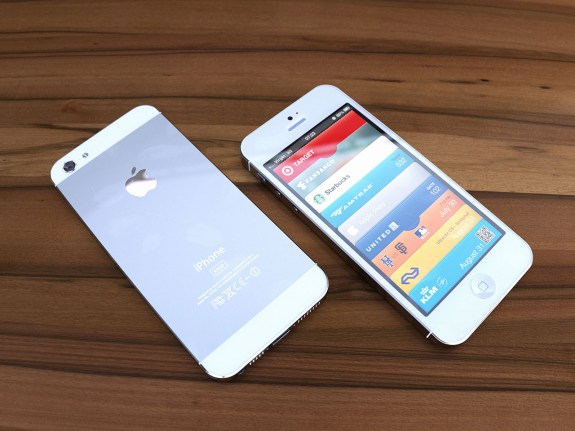 iPhone 5 side by side